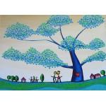 Puzzle  Grafika-Kids-01792 Anne Poiré & Patrick Guallino - Feuilles Protectrices