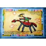 Puzzle  Grafika-Kids-01808 XXL Pieces - Anne Poiré & Patrick Guallino - Précieuse Chevauchée