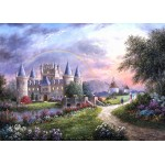 Puzzle  Grafika-Kids-01842 Magnetic Pieces - Dennis Lewan - Inverary Castle