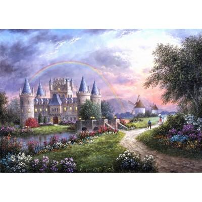 Puzzle Grafika-Kids-01842 Magnetic Pieces - Dennis Lewan - Inverary Castle