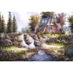 Puzzle  Grafika-Kids-01849 XXL Pieces - Dennis Lewan - Alpine Falls