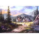 Puzzle  Grafika-Kids-01851 Dennis Lewan - Hills Of Bavaria
