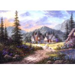 Puzzle  Grafika-Kids-01852 Magnetic Pieces - Dennis Lewan - Hills Of Bavaria