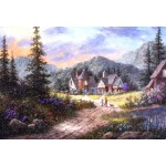 Puzzle  Grafika-Kids-01854 XXL Pieces - Dennis Lewan - Hills Of Bavaria