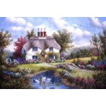 Puzzle  Grafika-Kids-01864 XXL Pieces - Dennis Lewan - Swan Creek Cottage