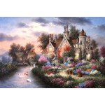 Puzzle  Grafika-Kids-01879 XXL Pieces - Dennis Lewan - Mill Creek Manor