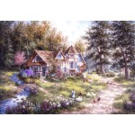 Puzzle  Grafika-Kids-01881 Dennis Lewan - Glacier Ridge Manor