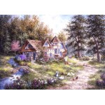 Puzzle  Grafika-Kids-01882 Magnetic Pieces - Dennis Lewan - Glacier Ridge Manor