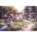 Puzzle  Grafika-Kids-01884 XXL Pieces - Dennis Lewan - Glacier Ridge Manor