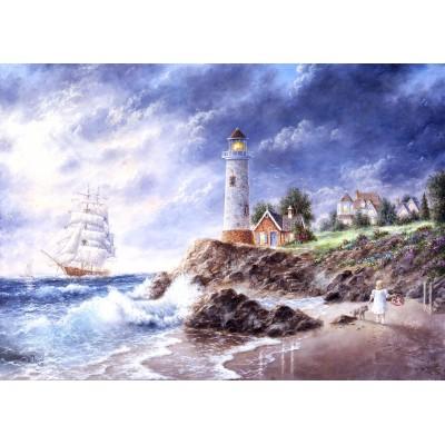 Puzzle Grafika-Kids-01887 Magnetic Pieces - Dennis Lewan - Anchor Cove
