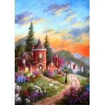 Puzzle  Grafika-Kids-01902 Magnetic Pieces - Dennis Lewan - Castle Ridge Manor