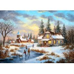 Puzzle  Grafika-Kids-01907 Magnetic Pieces - Dennis Lewan - A Mid-Winter's Eve