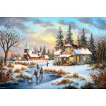 Puzzle  Grafika-Kids-01909 XXL Pieces - Dennis Lewan - A Mid-Winter's Eve