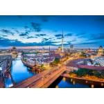 Puzzle  Grafika-Kids-01915 Deutschland Edition - Berlin Skyline In Twilight