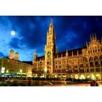 Puzzle  Grafika-Kids-01920 Deutschland Edition - München, Rathaus