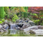 Puzzle  Grafika-Kids-01932 Deutschland Edition - Waterfall At Japanese Garden, Bonn
