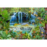 Puzzle  Grafika-Kids-01947 XXL Pieces - François Ruyer - Waterfall