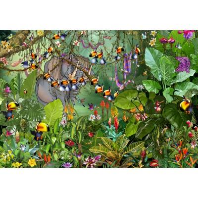 Puzzle Grafika-Kids-01969 François Ruyer - Jungle