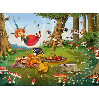 Puzzle Grafika-Kids-01970 François Ruyer - Witch