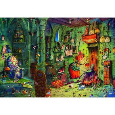 Puzzle Grafika-Kids-01978 François Ruyer - In the kitchen!