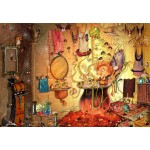 Puzzle  Grafika-Kids-01980 François Ruyer - The Bath