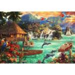 Puzzle  Grafika-Kids-02005 Chuck Pinson - Island Life