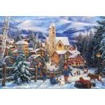 Puzzle  Grafika-Kids-02008 Chuck Pinson - Sledding To Town