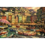 Puzzle  Grafika-Kids-02009 Chuck Pinson - Vibrance of Italy