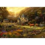 Puzzle  Grafika-Kids-02037 Chuck Pinson - The Golden Valley