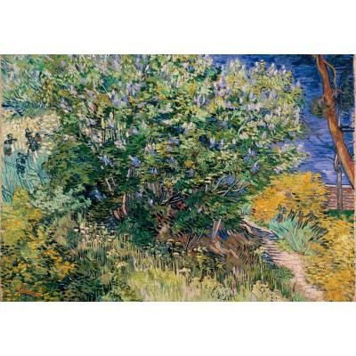 Puzzle Grafika-Kids-02039 Vincent Van Gogh - Lilacs, 1889