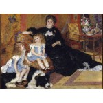 Puzzle  Grafika-Kids-02040 Auguste Renoir - Mrs Charpentier and Her Children, 1878