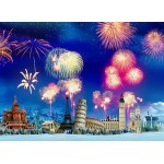Puzzle  Grafika-Kids-02059 New Year's Eve around the World