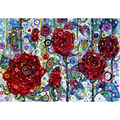 Puzzle Grafika-Kids-02068 Sally Rich - Roses