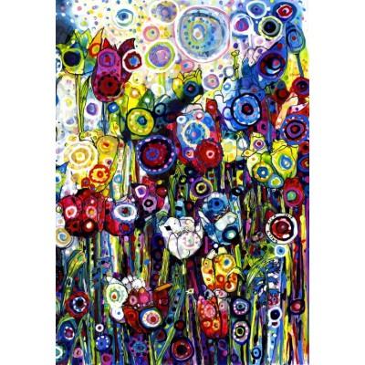 Puzzle Grafika-Kids-02090 Sally Rich - Spring Tulips