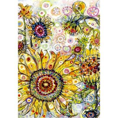 Puzzle Grafika-Kids-02094 Sally Rich - Sunflowers
