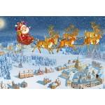 Puzzle  Grafika-Kids-02102 François Ruyer - Santa Claus