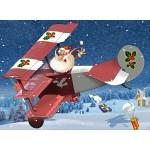 Puzzle  Grafika-Kids-02103 François Ruyer - Santa Claus