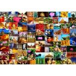 Puzzle  Grafika-Kids-02106 Collage - Zen
