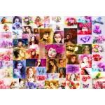 Puzzle  Grafika-Kids-02108 Collage - Women