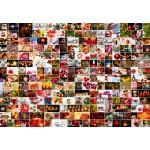Puzzle  Grafika-Kids-02109 Collage - Christmas