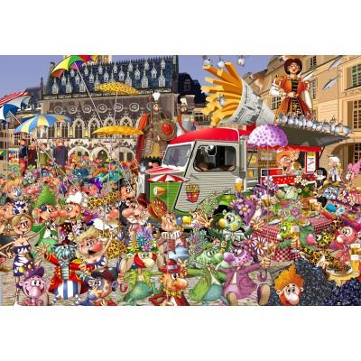 Puzzle Grafika-Kids-02113 The Lille Braderie