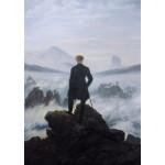 Puzzle   Caspar David Friedrich - Der Wanderer über dem Nebelmeer, 1818