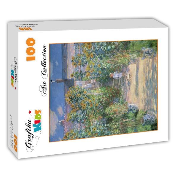 ... 1880 Claude Monet   The Artistu0027s Garden At Vétheuil, ...