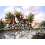 Puzzle   Dennis Lewan - Admiring The Swans