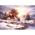 Puzzle   Dennis Lewan - Amber Sky Of Winter
