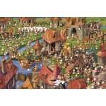 Puzzle   XXL Pieces - François Ruyer - Rabbits!