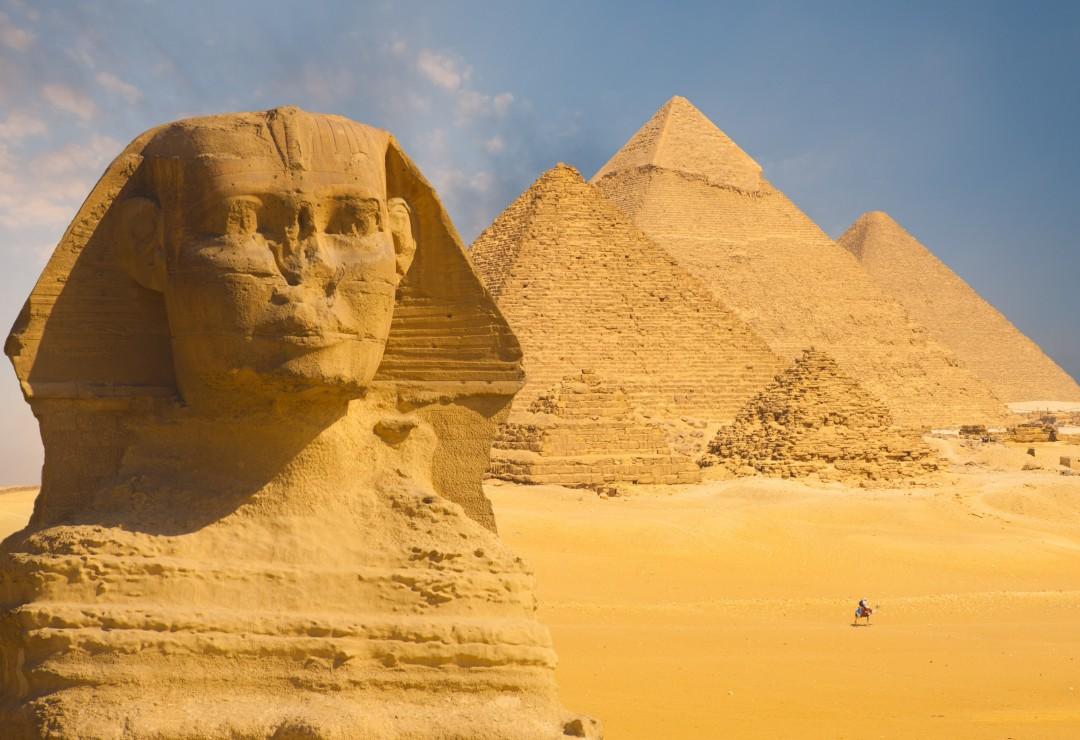 puzzle xxl pieces sphinx and pyramids at giza grafika