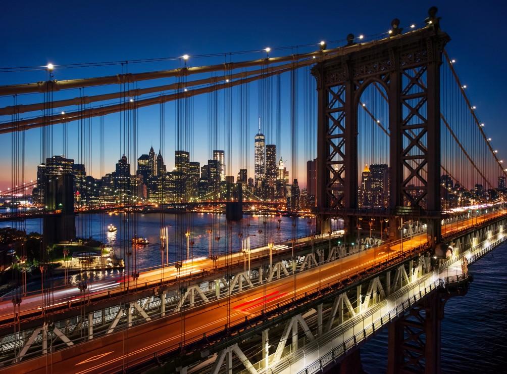 Brooklyn Bridge, Manhattan, New York 2000 piece jigsaw puzzle