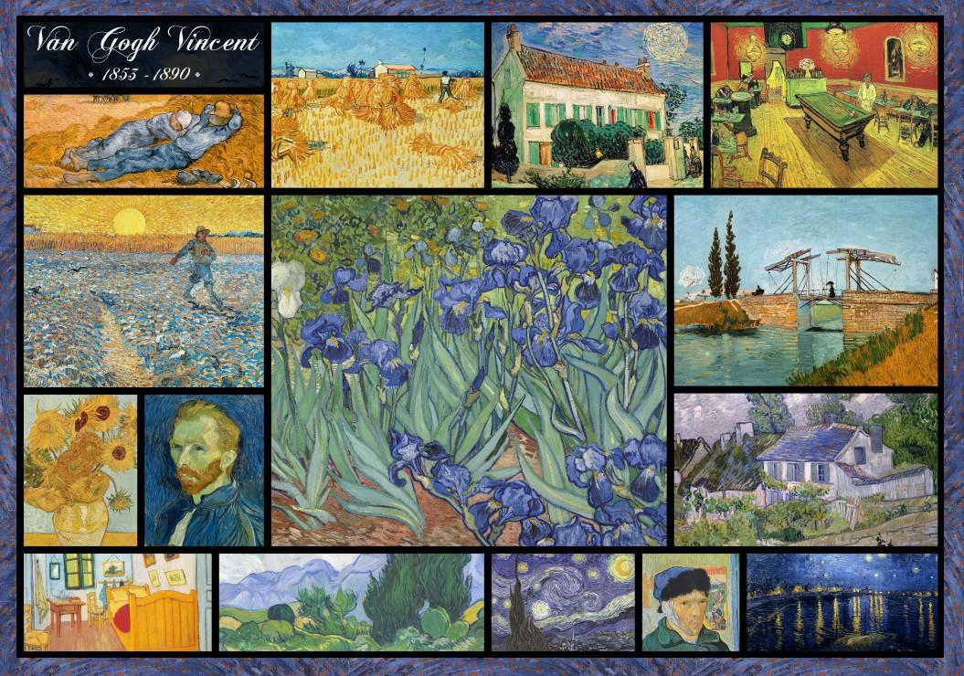 puzzle collage vincent van gogh grafika00836 1000