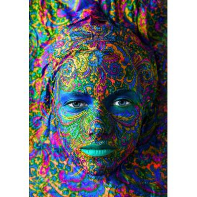 Puzzle Grafika-00002 Face Art: Portrait of woman